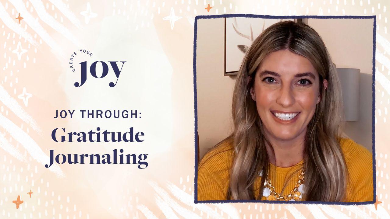 Gratitude Practice & Journaling