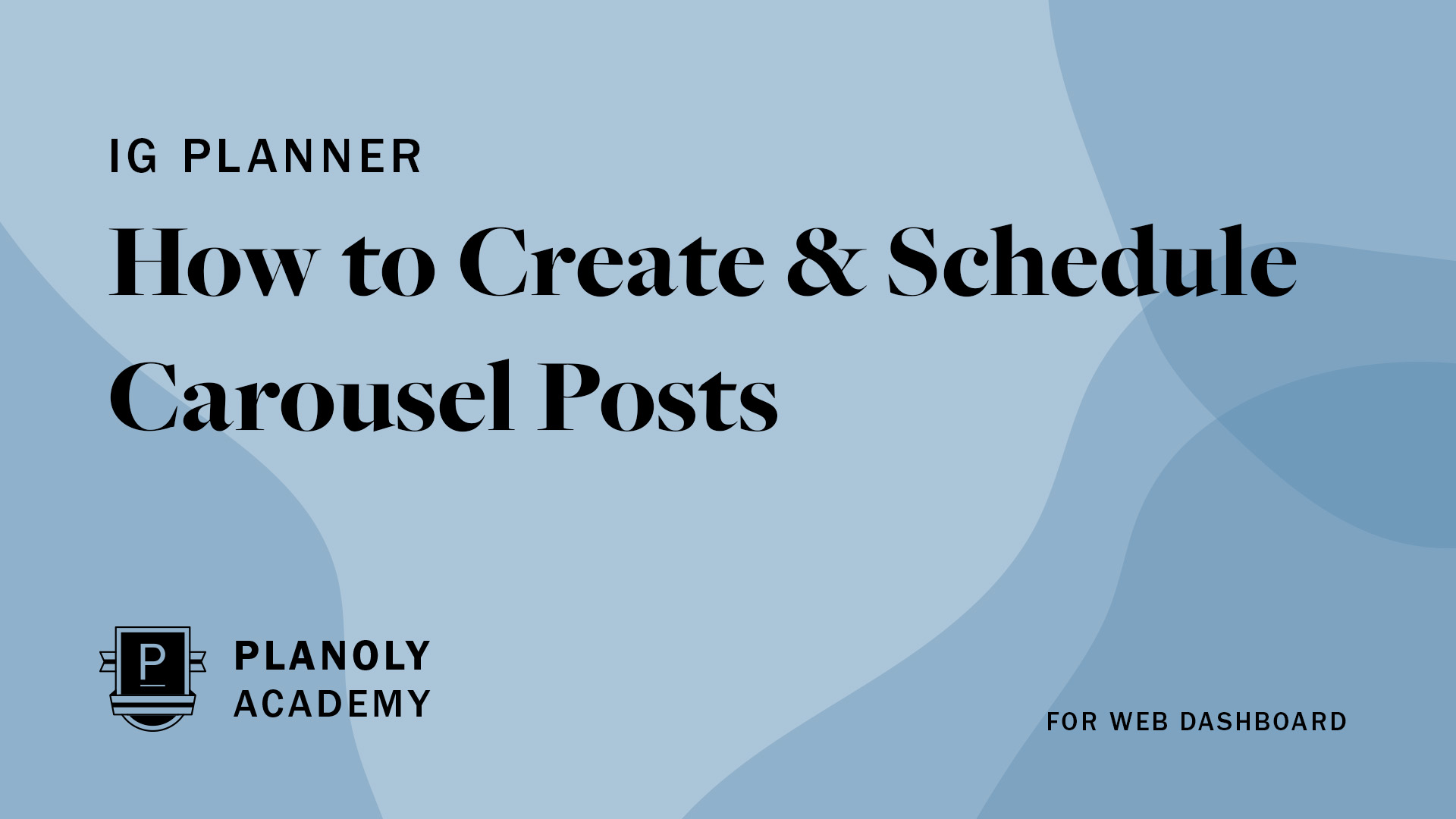 How to Create & Schedule Carousel Posts