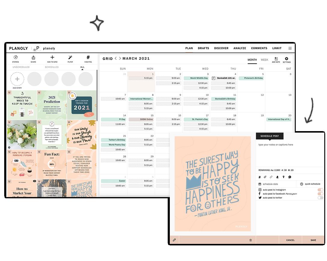 IG Planner - Web Dashboard
