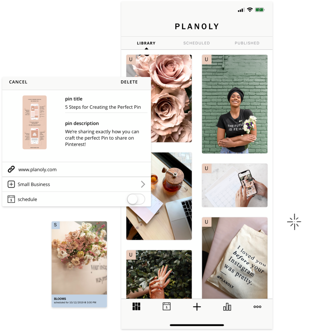PLANOLY | Pin Planner