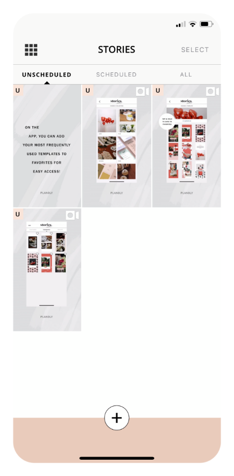 PLANOLY | Stories Mobile