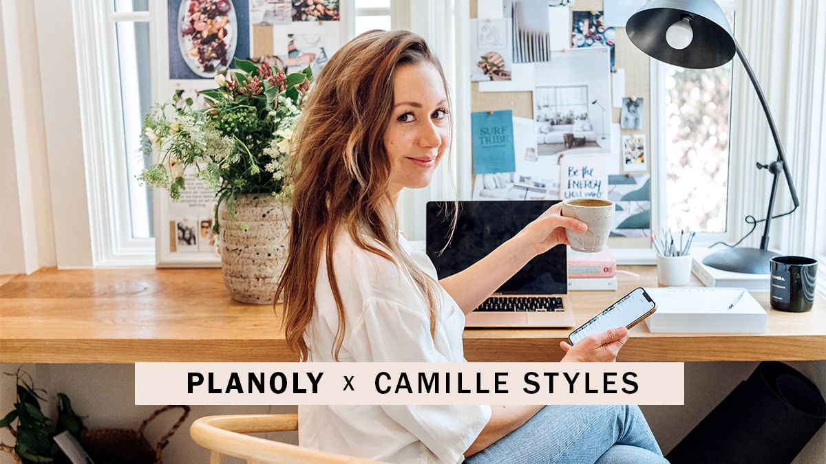 PLANOLY - Camille Styles Case Study - Landing Page - Header