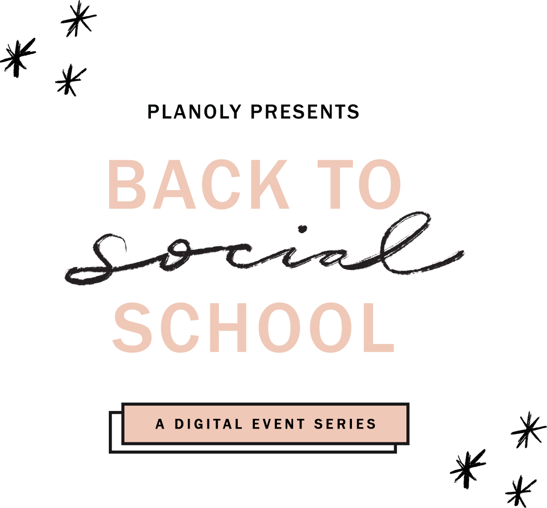 PLANOLY - PLANOLY Presents - Back to School - Logo Promotional - Transparent