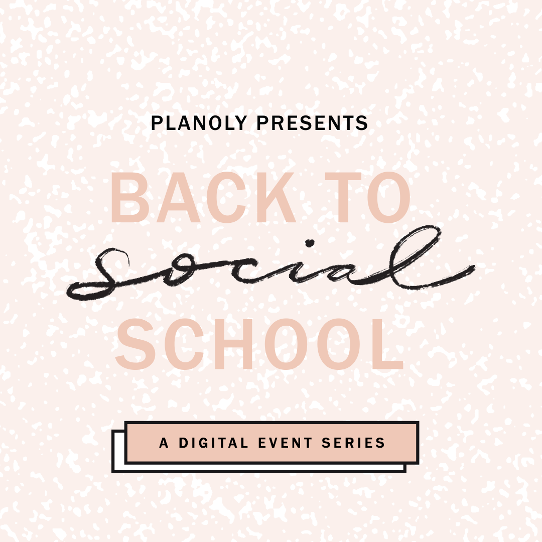 PLANOLY - PLANOLY Presents - Back to School - Logo Promotional Square - No Doodles