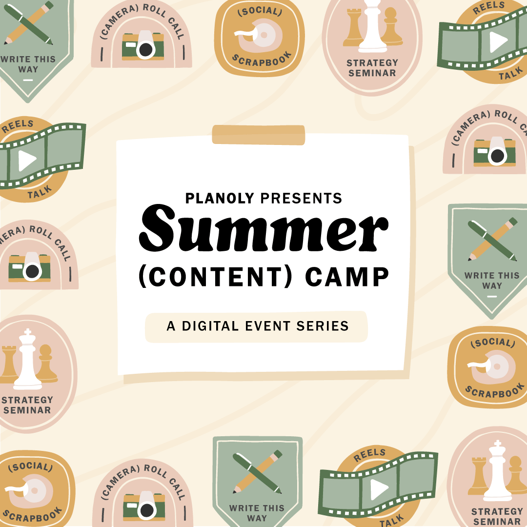 PLANOLY Presents - Summer Content Camp-General Square Promo
