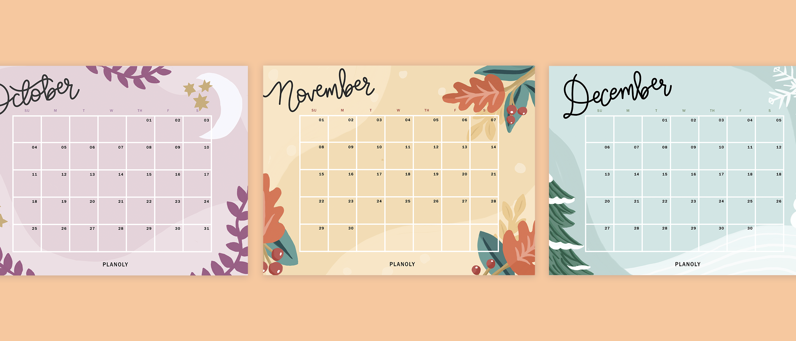 PLANOLY-blog post- Q4 2020 Content Calendars - banner-1