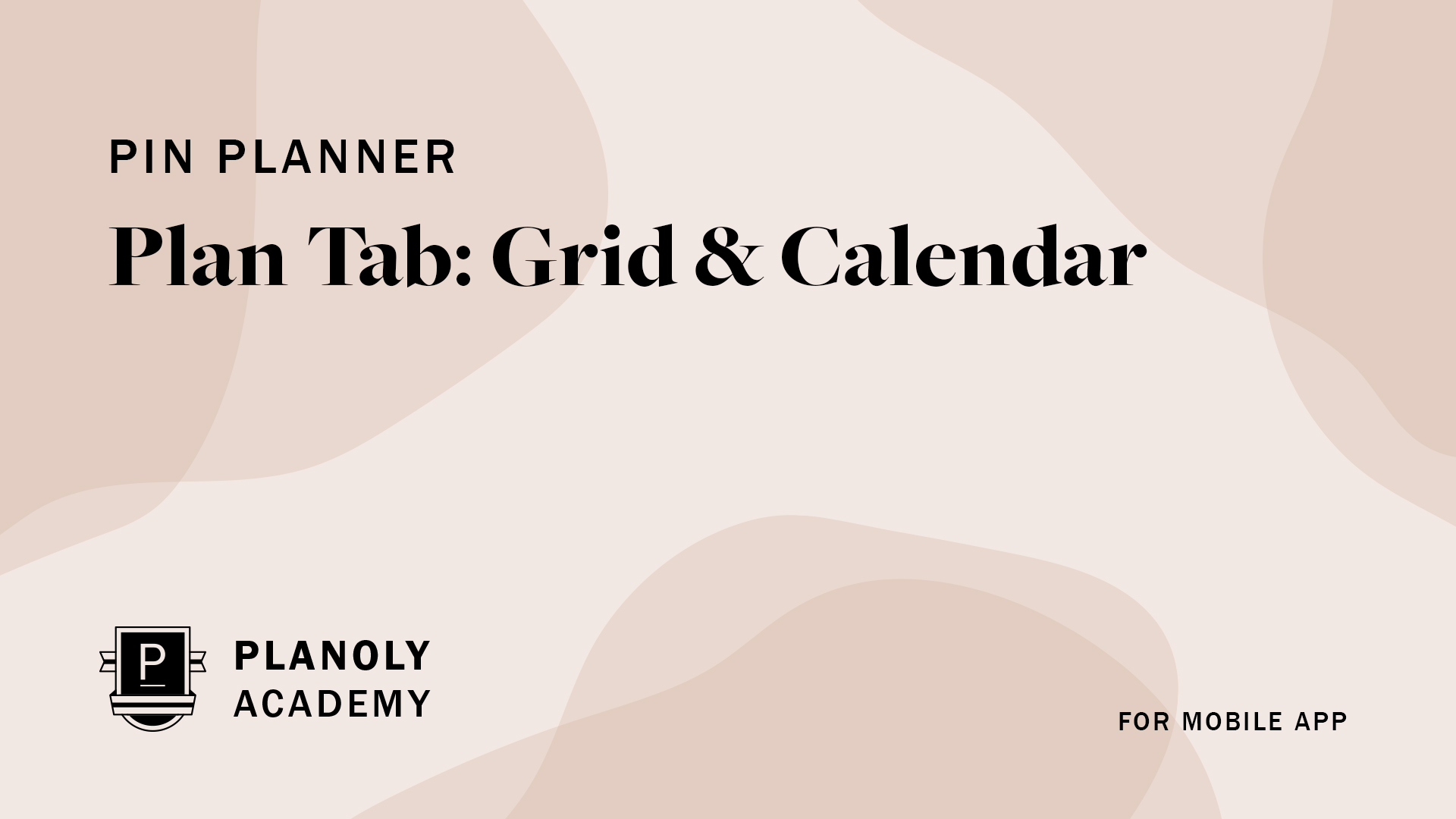 Get to Know Your Grid & Calendar