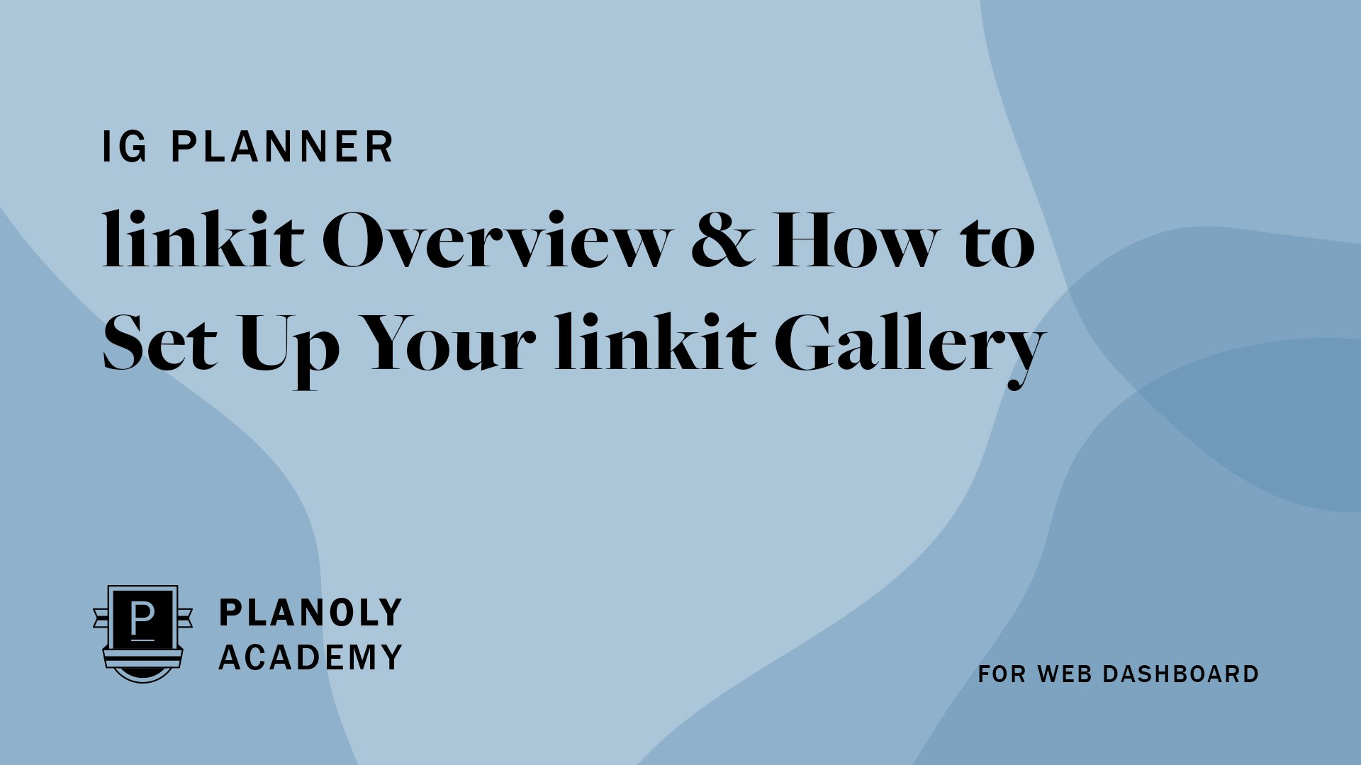 How to Set Up linkit Gallery