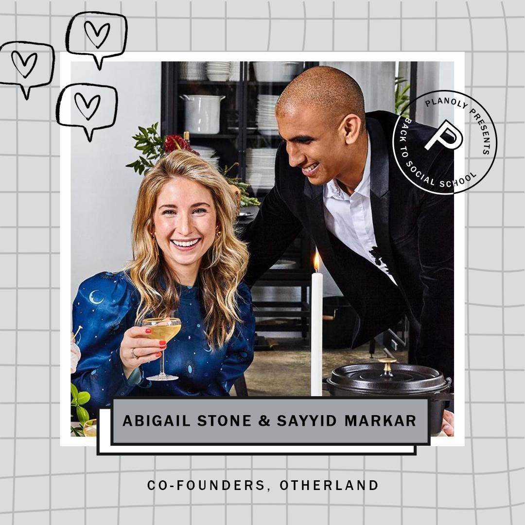 Abigail Stone & Sayyid Markar